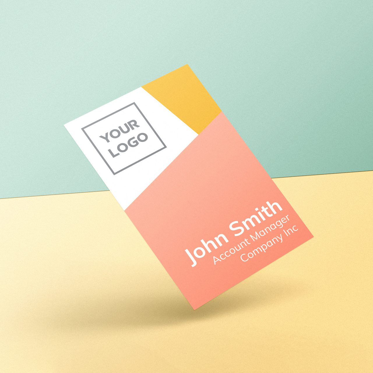 Spacey Studios Bright Geometric Business Card Templates