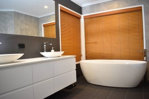 Bathroom renovation in Melbourne home, built by Cutting Edge Renovations & Extensions